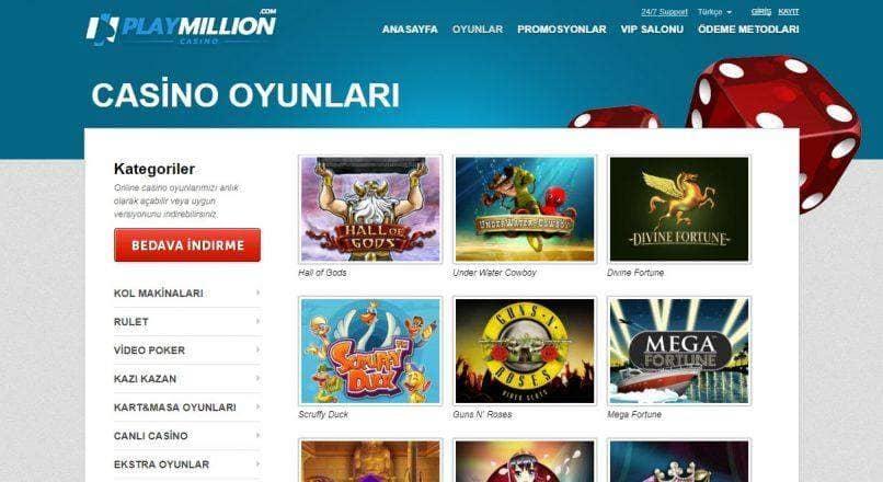 Playmillion Yeni Giriş Adresi