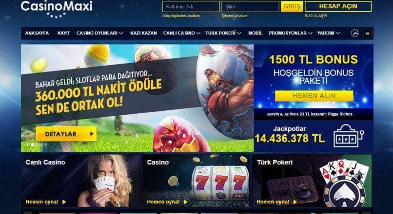 Casinomaxi Ödeme Yöntemleri