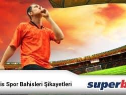 Süperbahis Spor Bahisleri Şikayetleri
