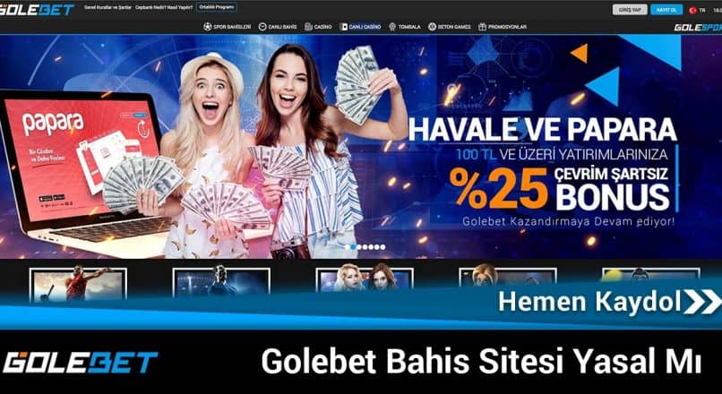Golebet Bahis Sitesi Yasal Mı