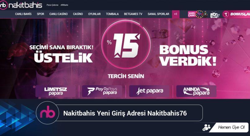 Nakitbahis Yeni Giriş Adresi Nakitbahis76