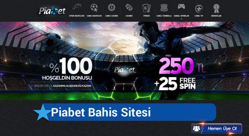 Piabet Bahis Sitesi