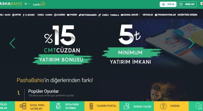Pashabahis Kayıt