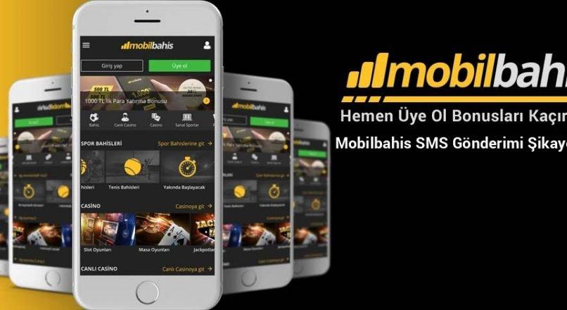 Mobilbahis SMS Gönderimi Şikayetleri