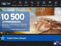 Piabet Sitesi Şikayet
