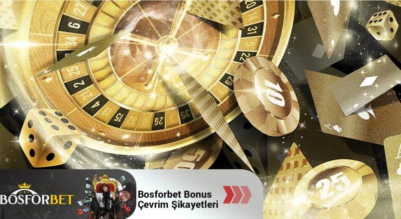 Bosforbet Bonus Çevrim Şikayetleri