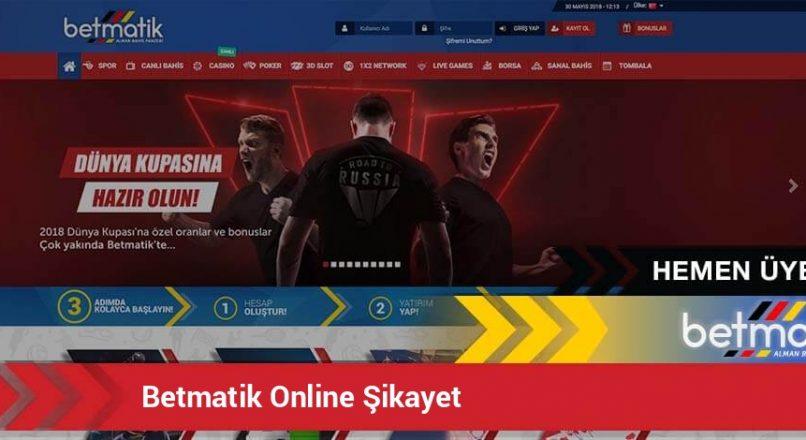 betmatik-online-sikayet